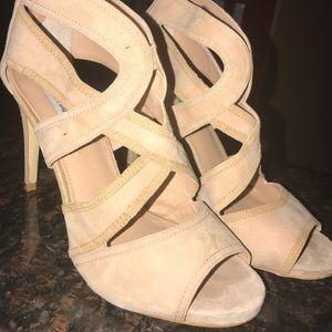 Steve madden suede heels size 10 used